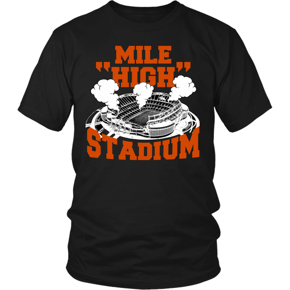 Mile High Stadium T-shirt-Fresh Steals