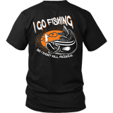 I Go Fishing T-shirt-Fresh Steals