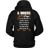 Biker's Prayer Hoodie-Fresh Steals