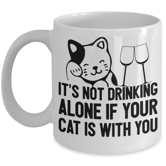 Cocktails with Your Kitty Coffee Mug-Fresh Steals