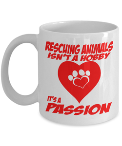 Rescuing Animals Passion Mug Coffee Mug-Fresh Steals