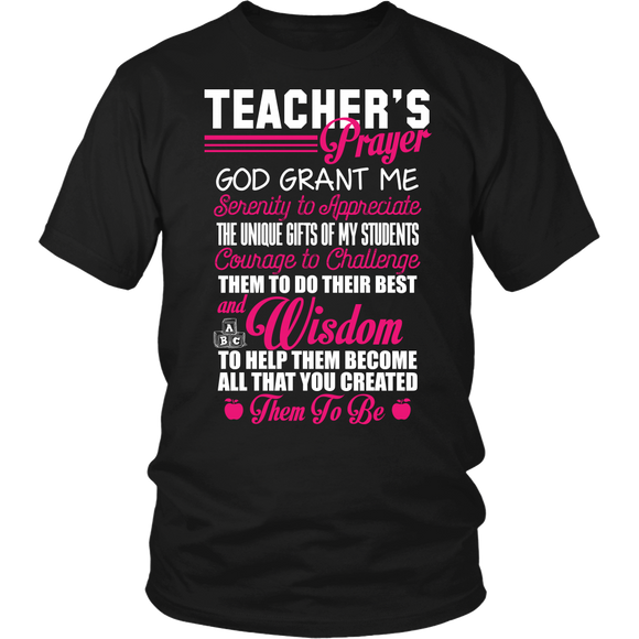 Teacher's Prayer T-shirt-Fresh Steals