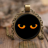 Cat Eyes Pendant Necklaces-Fresh Steals