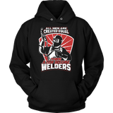Funny Welding Unisex Hoodies by Fresh Steals