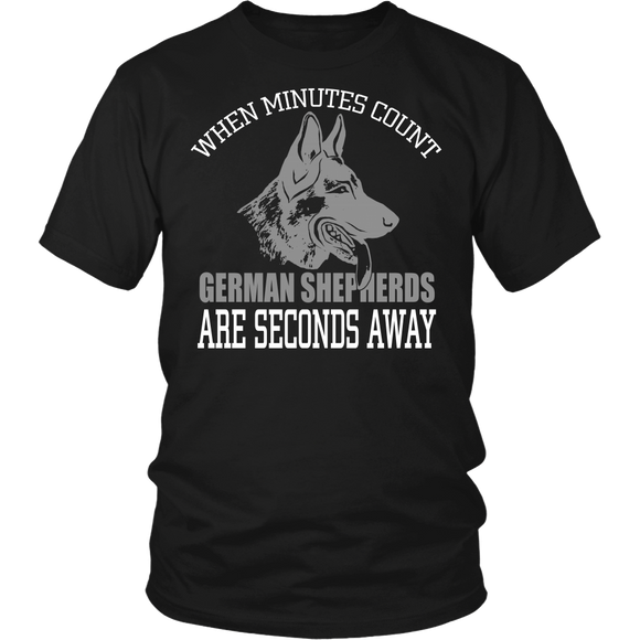 Count on German Shepherds T-shirt-Fresh Steals
