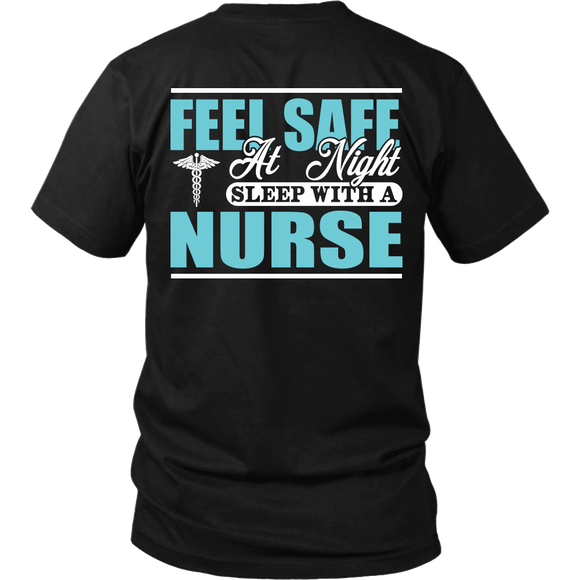 Sleep with a Nurse T-shirt-Fresh Steals