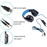 KOTION EACH G2000 Noise Cancelling Gaming Headset with Microphone Earphones & Headphones-Fresh Steals