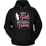 Real Girls Go Fishing T-shirt-Fresh Steals