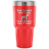 Smart Women Love Pit Bulls Tumblers-Fresh Steals