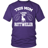 This Mom Loves Her Rottweiler T-shirt-Fresh Steals
