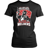 Funny Welding Women's T-Shirts by Fresh Steals
