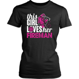 This Girl Loves Her Fireman T-shirt-Fresh Steals