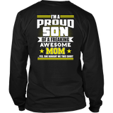 Proud Son of Awesome Mom T-shirt-Fresh Steals