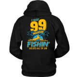 Fishing Solves 99 Problems T-shirt-Fresh Steals