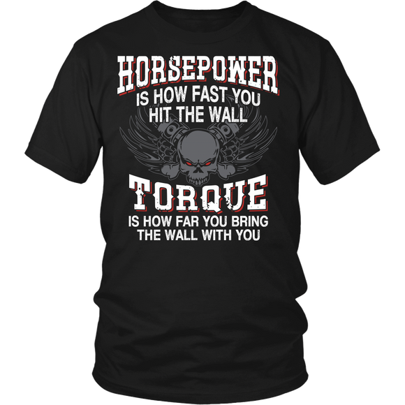 Horsepower and Torque T-shirt-Fresh Steals