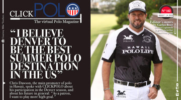 Our very own Chris Dawson was featured on Click Polo!