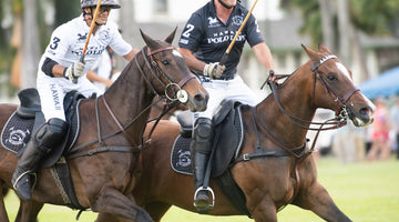 "Hawaii International Polo Association (HIPA) participates in a ""Polo Pa`ina"" at Palm Circle"