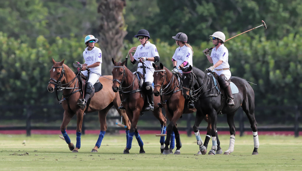 Team Hawaii Polo Life playing in U.S. Open Women's Polo Championship™️