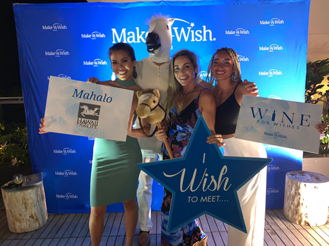 Hawaii Polo Life sponsoring Make a Wish foundation at the Alohilani resort