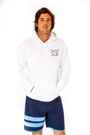 Hawaii International Polo Association Hoodie in White