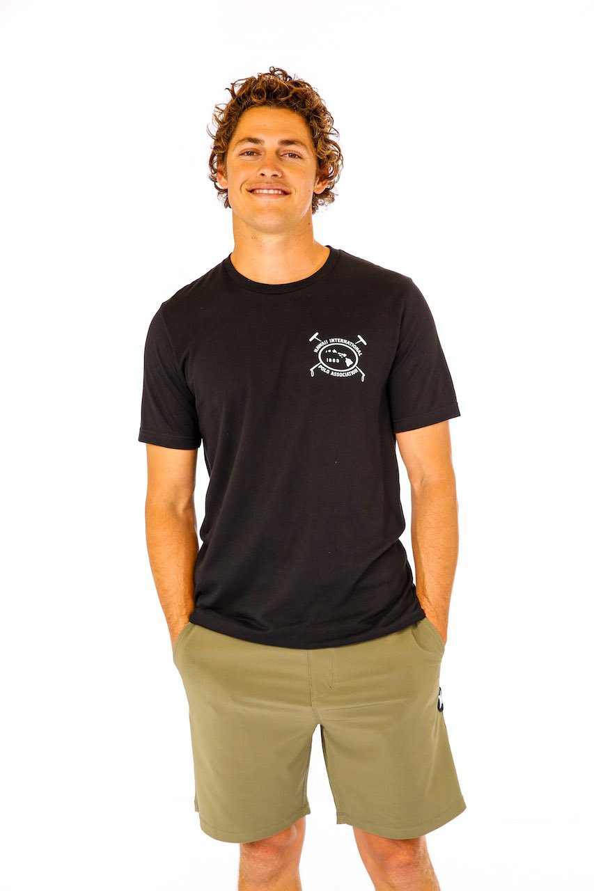 Hawaii International Polo Association Crew Neck Tee