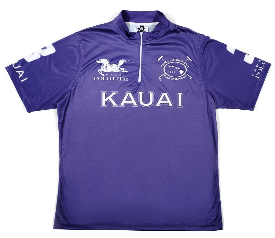 Men's Polo Jersey in Purple (Kauai)