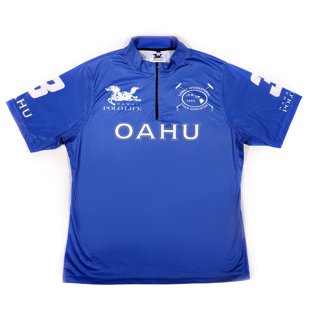 MEN'S POLO JERSEY - OAHU BLUE