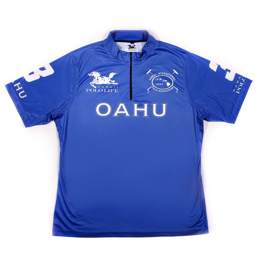 Men's Polo Jersey in Blue (Oahu)