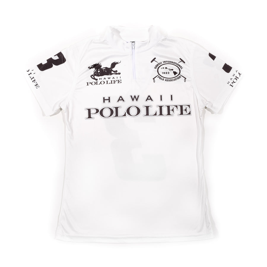 Women's Polo Jersey in White (Hawaii Polo Life)