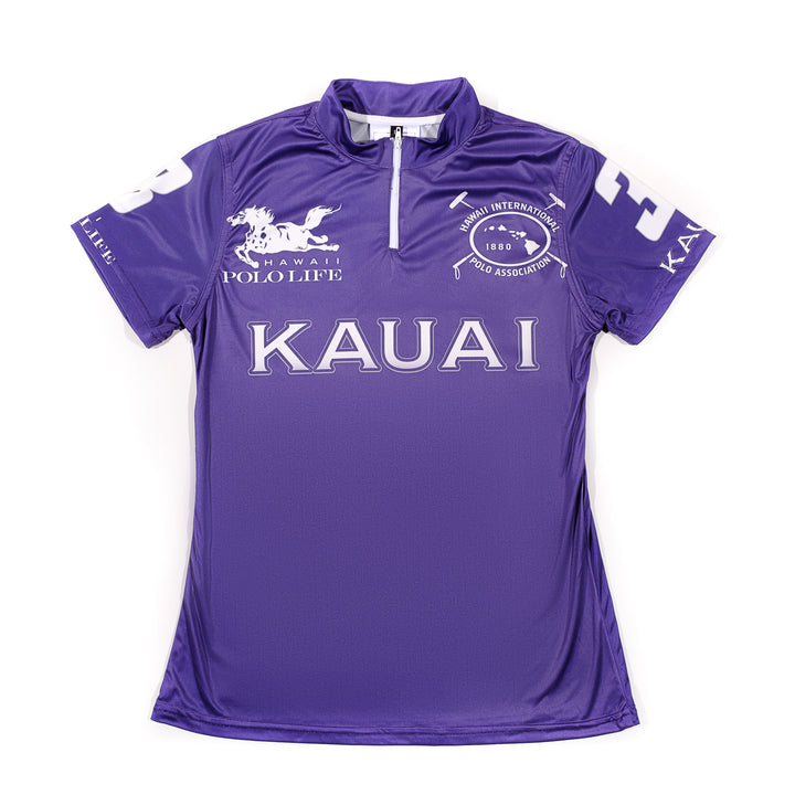 Women's Polo Jersey in Purple (Kauai)