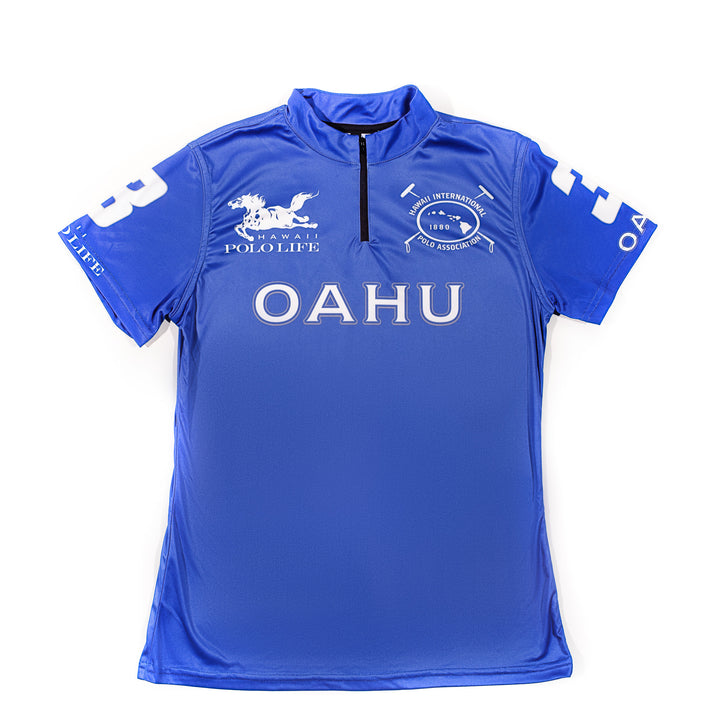 Women's Polo Jersey in Blue (Oahu)