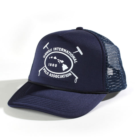 Hawaii international Polo Association Trucker Hat