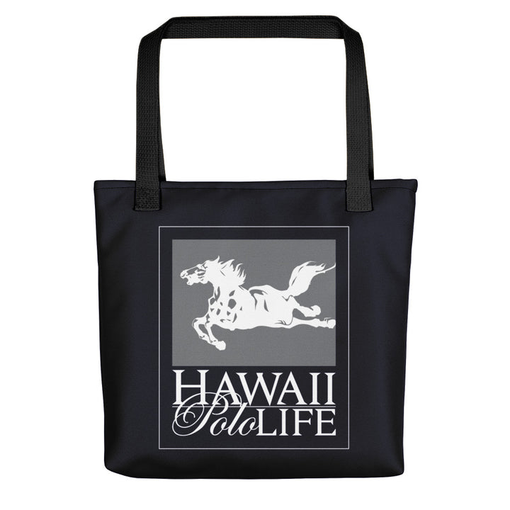 Hawaii Polo Life Logo Beach Tote