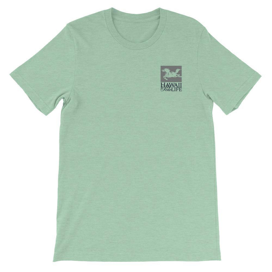 Hawaii Polo Life Horse Logo Tee in Mint