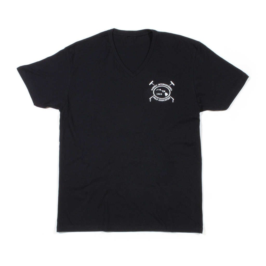 HIPA V NECK IN BLACK