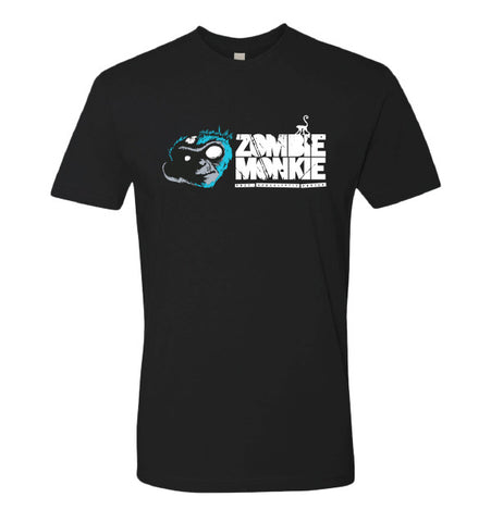 Zombie Monkie Black Tee