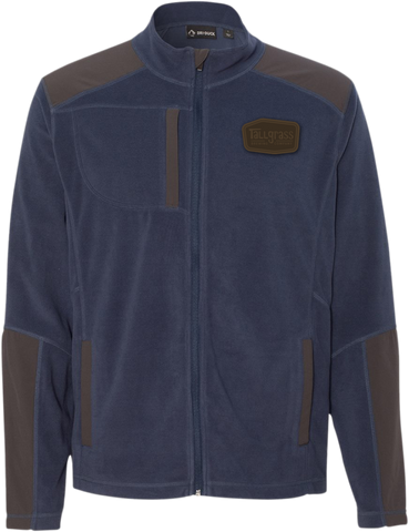 DRI DUCK - Custom Tallgrass Explorer DDX Full-Zip Microfleece Nylon Jacket