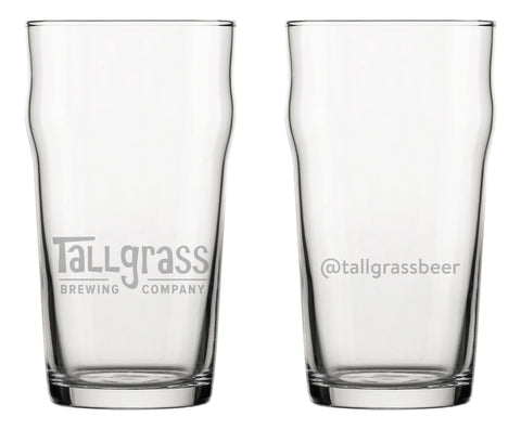 Tallgrass Nonic Pint Glass