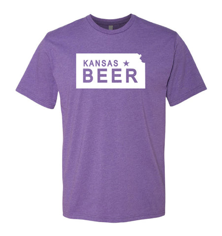 Kansas Beer Tee - Mens