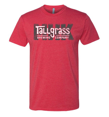 Screen Printed Tallgrass Brand MHK Tee