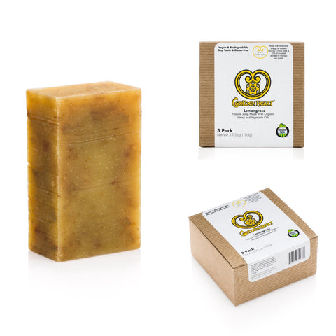 Lemongrass Soap Bar 3 Pack