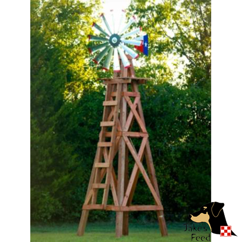 15'  WOODEN WINDMILL