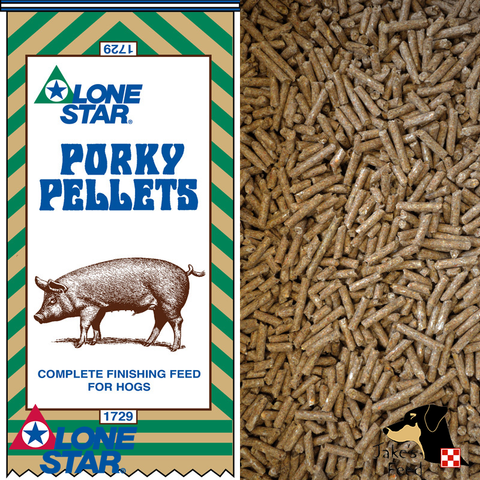 Lone Star Porky Pellets Pig Feed