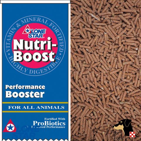Lone Star Nutri-Boost 20lb Show Feed
