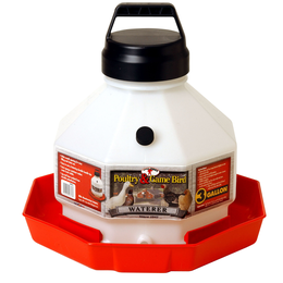 POULTRY WATERER PLASTIC 3 GALLON