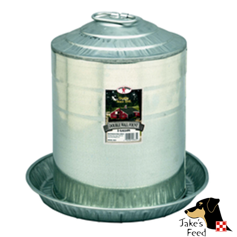 POULTRY WATERER 5 GALLON GALVANIZED