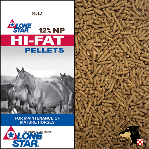 Lone Star Hi-Fat Pellet Horse Feed