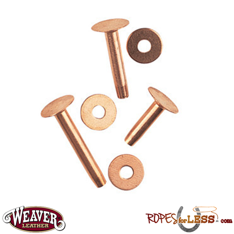 Weaver Copper Rivets and Burrs