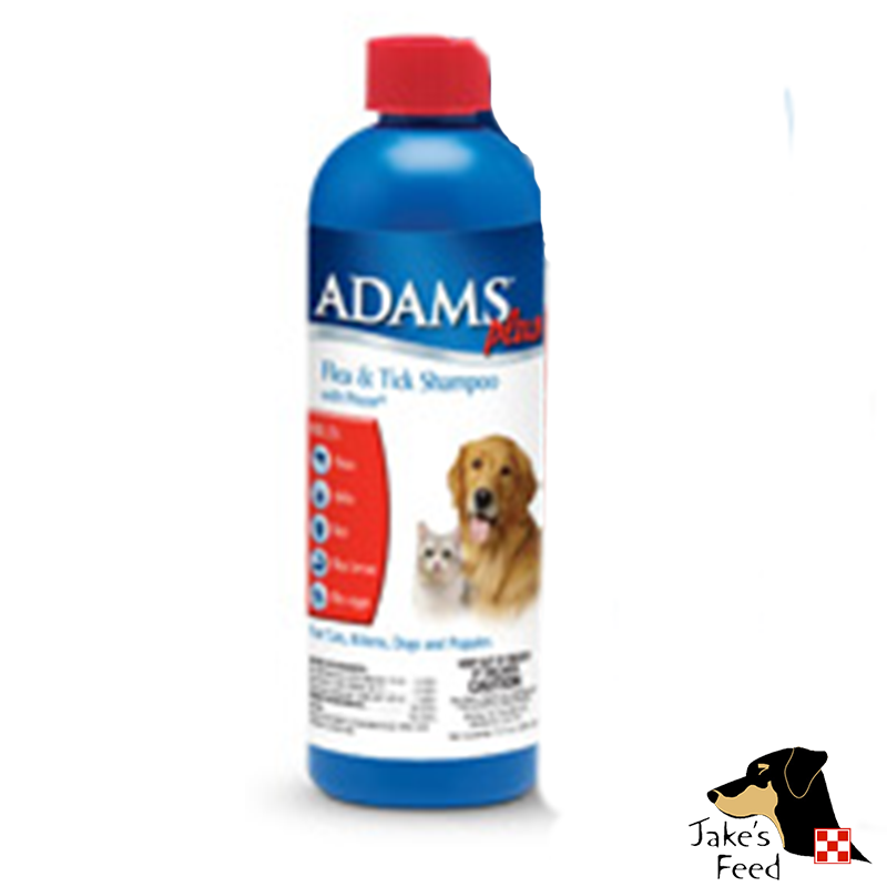 ADAMS PLUS FLEA AND TICK SHAMPOO WITH IGR 12 OZ.