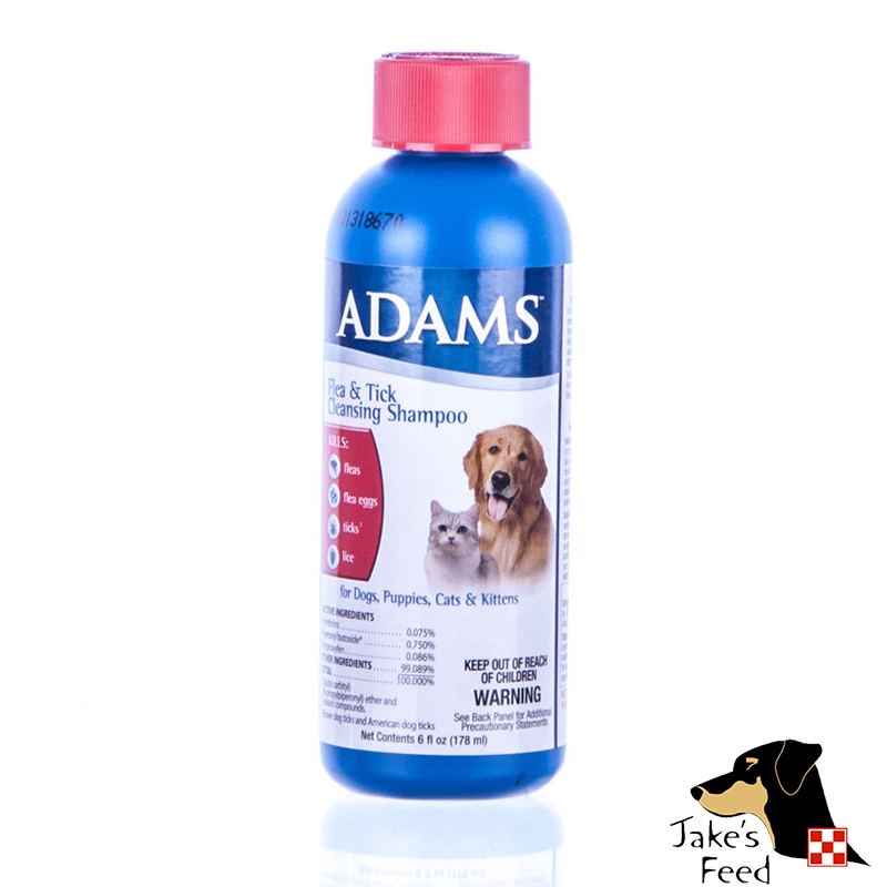 ADAMS FLEA & TICK SHAMPOO 6 OZ.